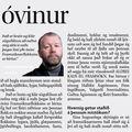 DV 090430 Kristján Hreinsson Algjör óvinur