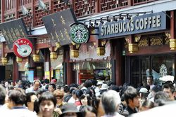 China-Shanghai-Starbucks
