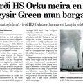 Virði HS Orku meira en Geysir Green mun borga
