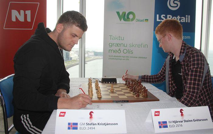 Stefán og Hjörvar