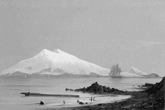 Snæfellsjökull eftir Larsen