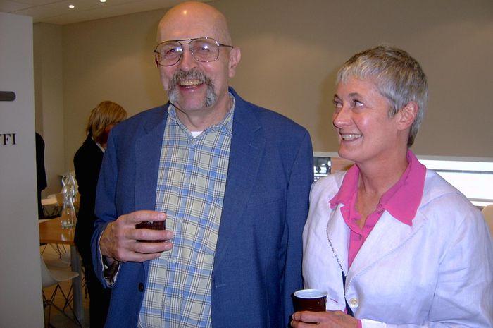 Bill Cote og frú