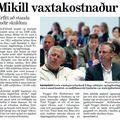 Moggi 090429 Mikill vaxtakostnaður