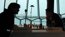 Gawain Jones and Fabiano Caruana