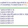 Astro Exalted Fall