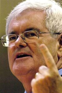 Gingrich leiddi repúblíkanaflokkinn til sigurs 1994 sem fánaberi takmarðara ríkisafskifta en hefur skift um skoðun síðan þá.jpg