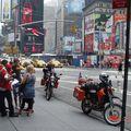 Fákarnir góðu á Times Square