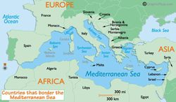 Mediterranean-Sea-Countries