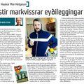 Lesbók 090926 Haukur Már Helgason Rigningin