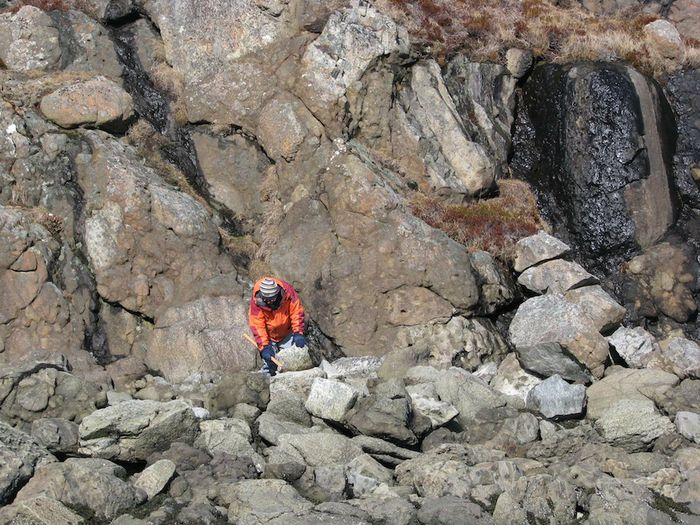 Hrappsey berg