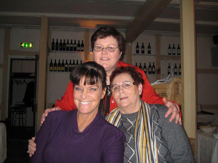 Ólöf, Rósa og Helga
