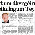Moggi 090513 Engar ábyrgðir í Teymi