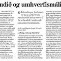 ESB og umhverfismál - Þórunn Sveinbjarnardóttir - 9.1.09
