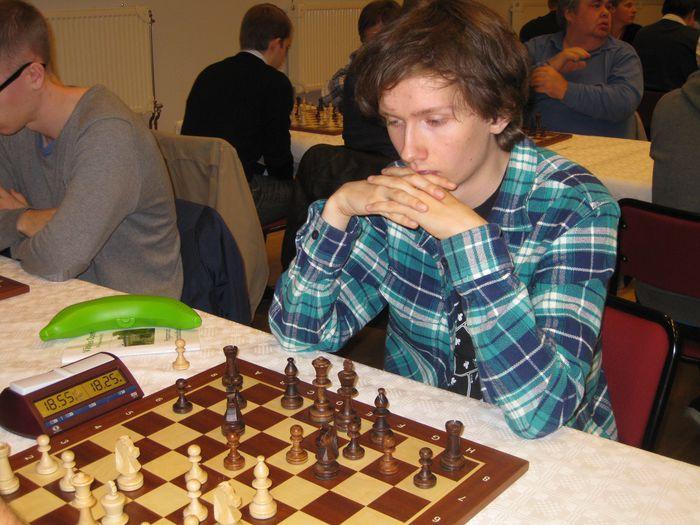 Sverrir Þorgeirsson er búsettur í Uppsala og teflir á Västerås Open