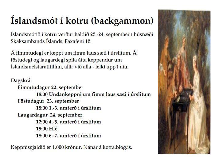 Íslandsmót 2011