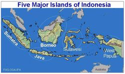Indonesia-Borneo-map