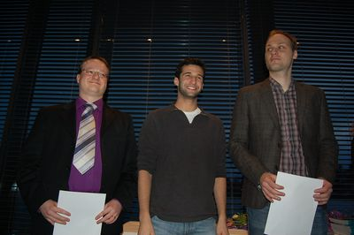 IM norms: Einar Hjalti Jensson, Teddy Coleman and Andreas Moen