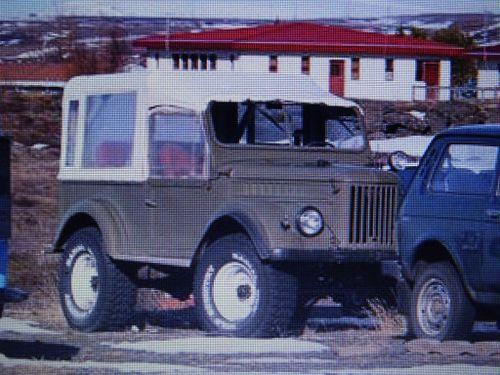 GAZ 66 árgerð 1966