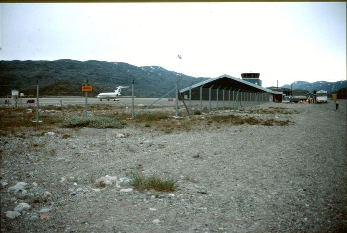 Narsarsuaq flugstod1986