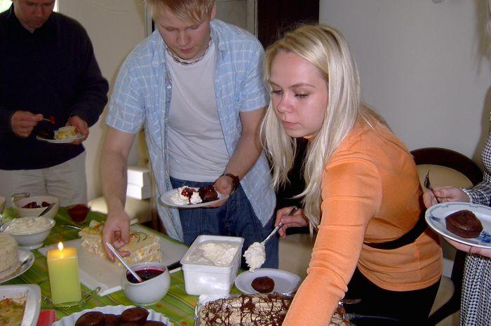 Nammi og systkynin Andri og Ragnheiður