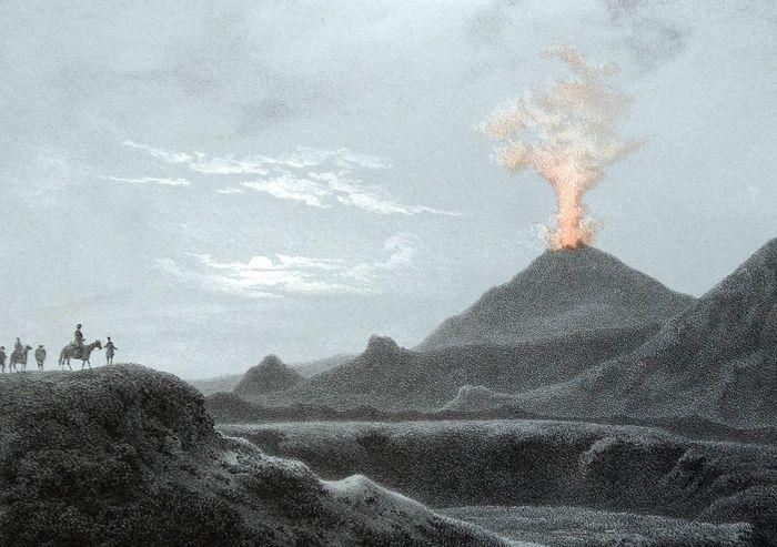 Heklugos eftir Larsen 1845
