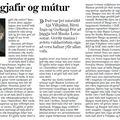 Moggi 080913 Stefán Erlends Boðsferðir gjafir mútur