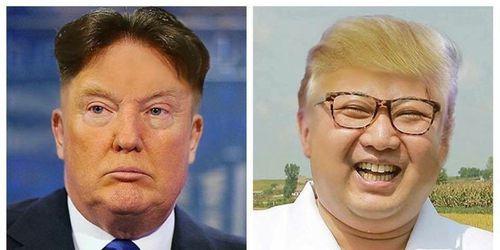 Trump og Kim