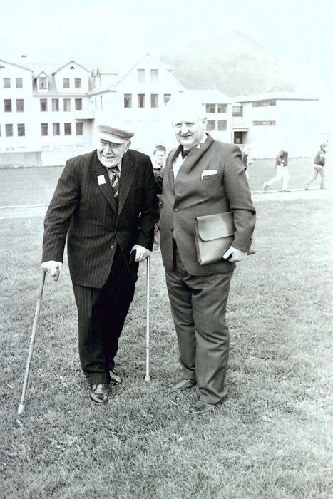 Sigurjón og Einar í Betel