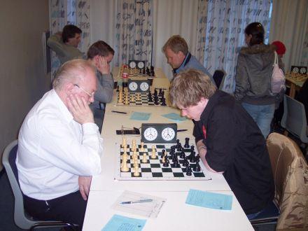 Minningarmót um Jóhann Snorrason í apríl árið 2006.