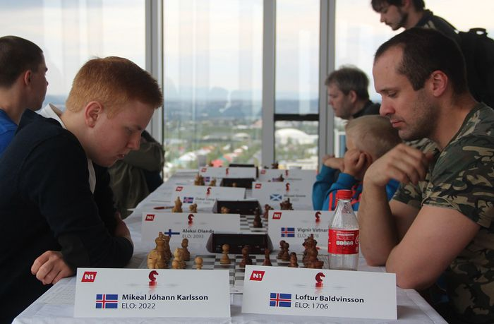 Mikael Jóhann og Loftur