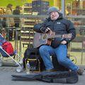 JoJo að spila í Austurstræði á Gamlársdag 2008