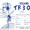 QSL kort TF3OM frá 1965