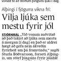 Fbl 081222 Jólafrí þingmanna